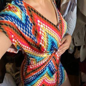 Beautiful colorful Trina Turk Mini dress